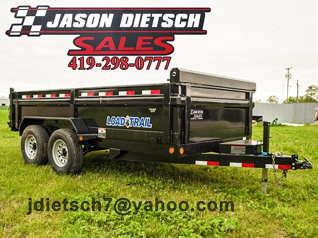 2017 Load Trail DT 83x14 Tandem Axle Dump Trailer....Stock#LT-40905