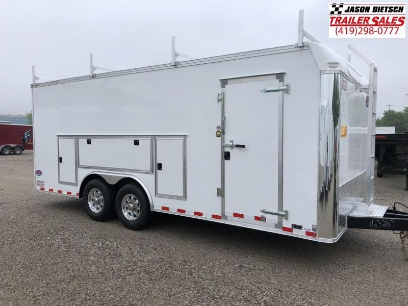 2019 United Trailer UXT 8.5x20 Enclosed Tool Crib Trailer....Stock#UN-163267
