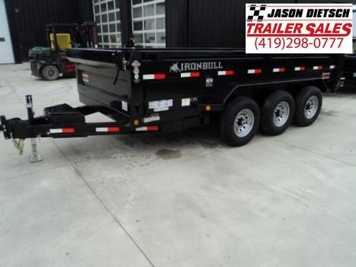 2018 Iron Bull DT 83x16 Triple Axle Dump Trailer