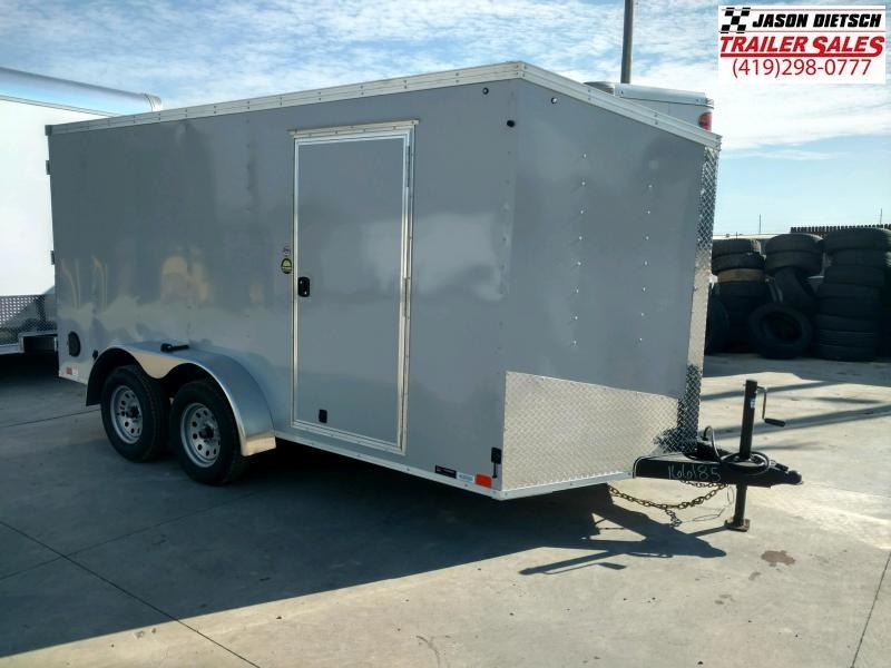 2020 United Trailers XLV 7x14 V-Nose Enclosed Cargo Trailer....Stock# UN-166185