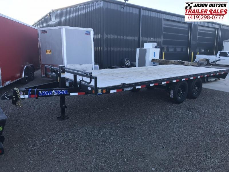 2019 Load Trail 102X20 Deck Over Pintle Hook Equipment Trailer....STOCK# LT-175253