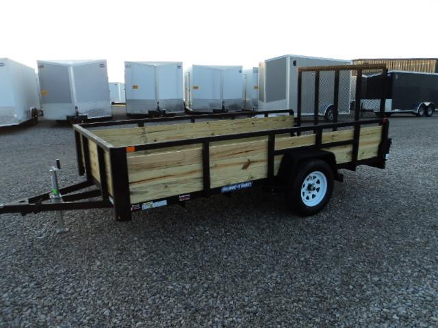 2018 Sure Trac 6x12 Tube Top Three Board Utility Trailer....Stock# ST-241763
