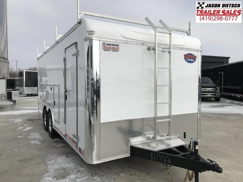 2019 United Trailer UXT 8.5x20 Enclosed Tool Crib Trailer....Stock#UN-167392