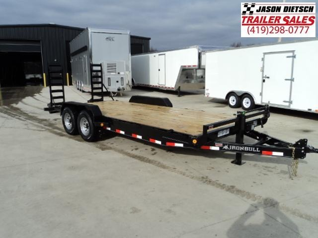 2018 Iron Bull 83X20 Equipment Trailer.... STOCK- 019043