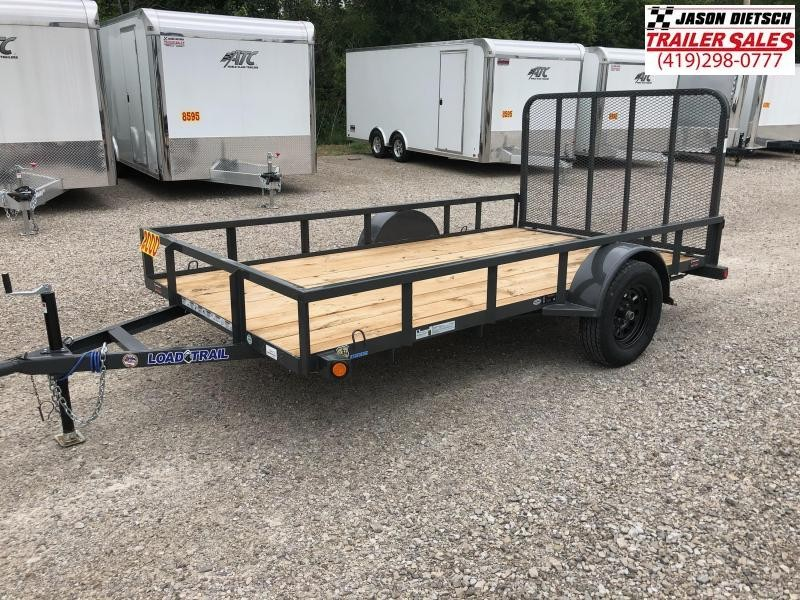2018 Load Trail 77X12 Single Axle Utility Trailer....STOCK# LT-164312