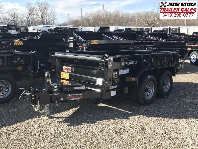 2018 Iron Bull 60x10 Tandem Axle Dump Trailer....Stock#IB-5162