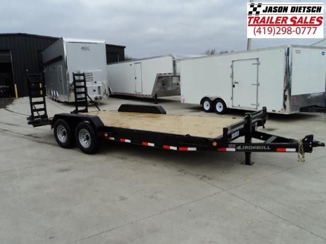 2018 Iron Bull 83X20 Equipment Trailer... STOCK- 019044
