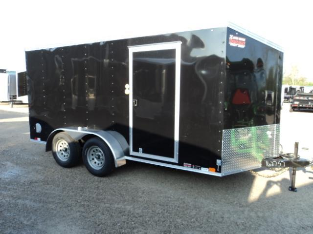 2019 United Trailers XLV 7x14 V-Nose Enclosed Cargo Trailer....Stock# UN-162757