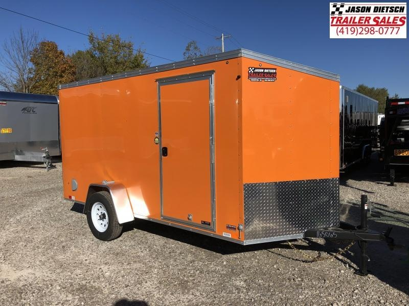 2019 United XLV 6X12 V-Nose Slant Enclosed Cargo Tr....Stock# UN-165065