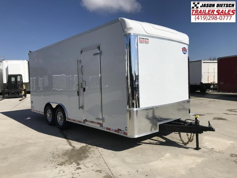 2019 United Trailer UXT 8.5x20 EXTRA HEIGHT Enclosed Trailer....Stock#UN-168020