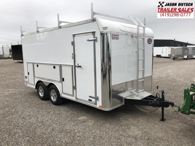 2019 United Trailers UXT 8.5x16 Enclosed Tool Crib Trailer.... Stock# UN-164559
