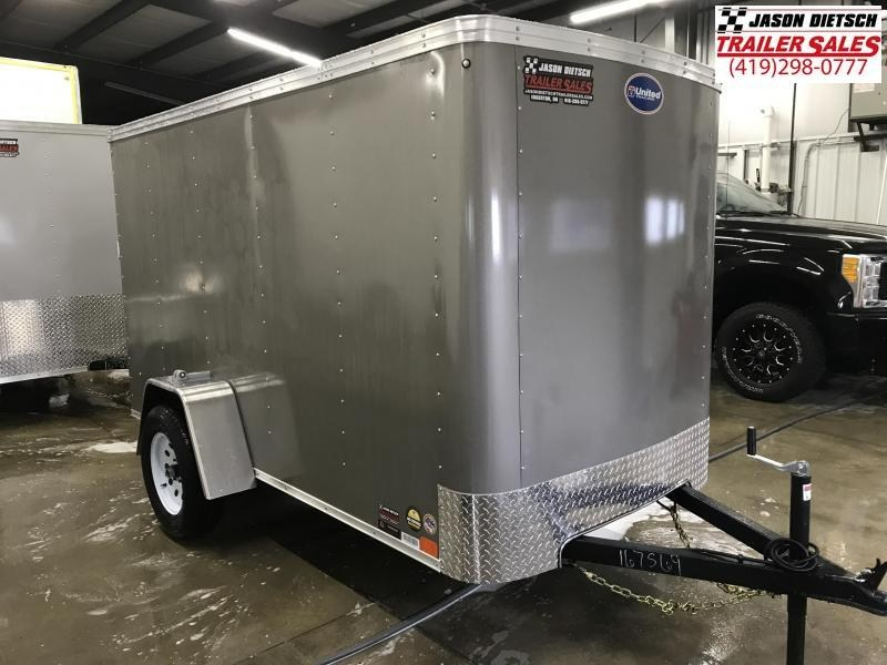 2019 United XLE 5X10 Enclosed Cargo TRAILER....Stock# UN-167569