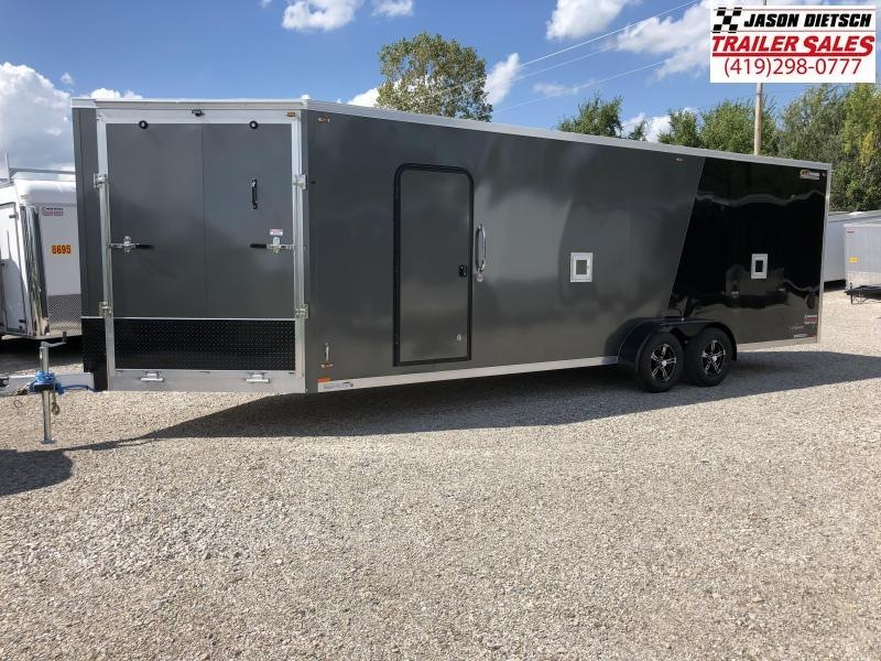 2019 Legend Manufacturing 7X29 EXPLORER EXTRA HEIGHT Snowmobile Trailer....STOCK LG-317318