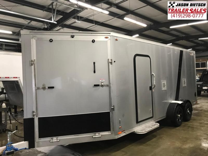 2019 Legend Manufacturing 7X23 EXPLORER EXTRA HEIGHT Snowmobile Trailer....STOCK LG-317372
