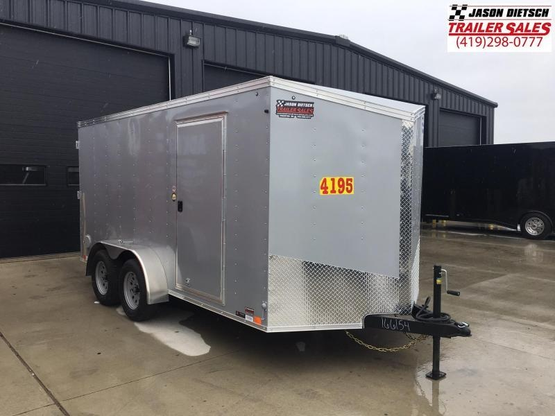 2020 United Trailers XLV 7x14 V-Nose Enclosed Cargo Trailer....Stock# UN-166154