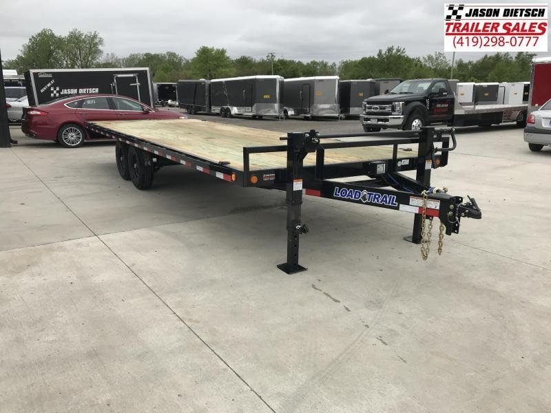 2019 Load Trail 102X24 Deck Over Pintle Hook Equipment Trailer....STOCK# LT6341