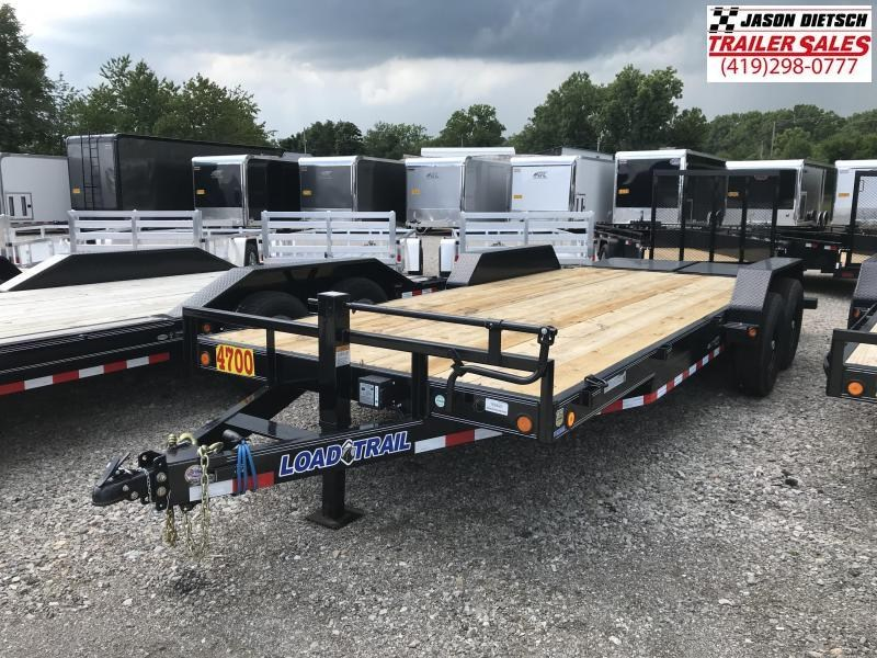 2018 Load Trail 83X20 Tandem Axle Carhauler....STOCK# LT-169420