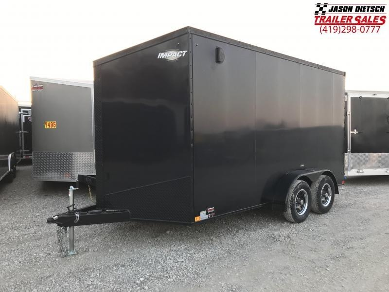 2019 Impact Trailers 7x14 EXTRA HEIGHT Enclosed Cargo Trailer....IMP001462