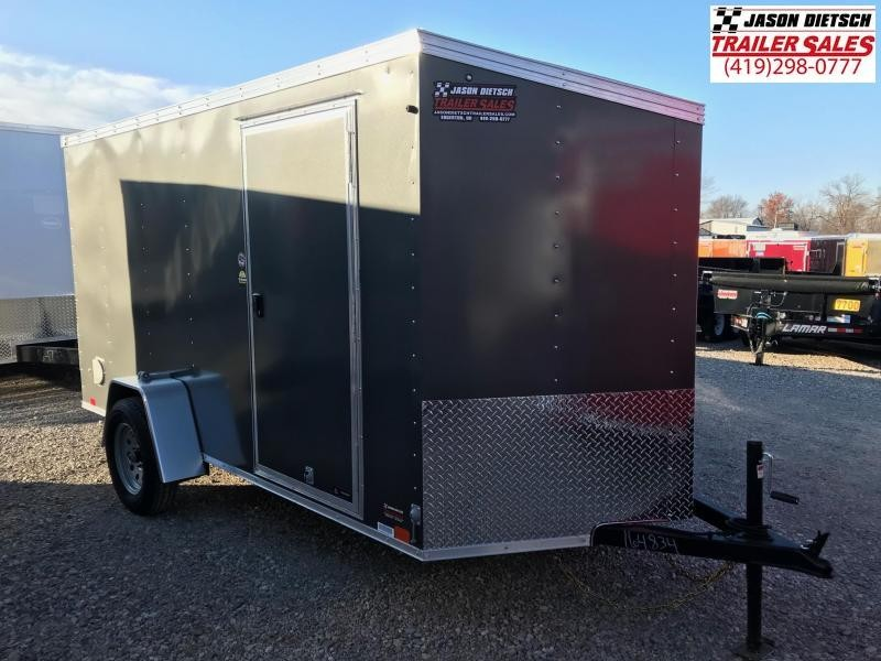 2019 United XLV 6X12 V-Nose Slant Enclosed Cargo Tr....Stock# UN-164834