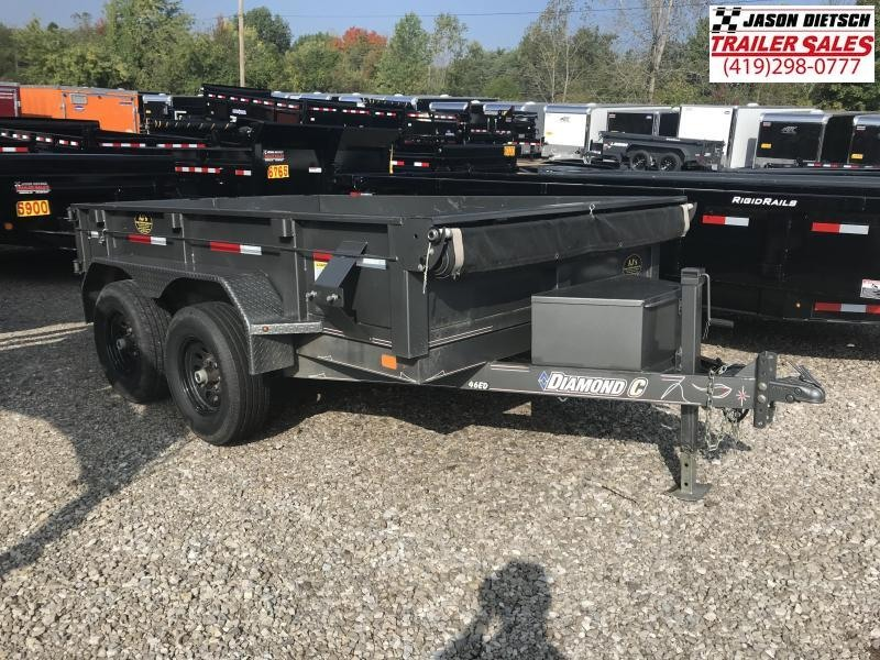 2016 Diamond C 6.5x10 Dump Trailer