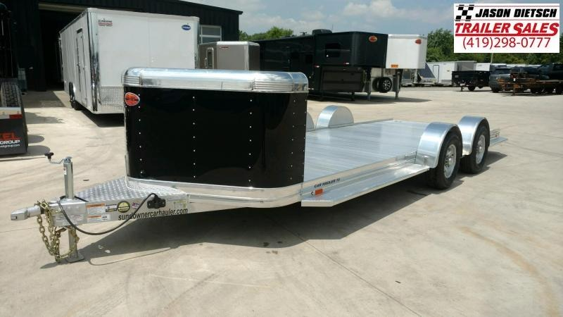 2020 Sundowner 6.9X19 Sunlite Car Trailer.... STOCK# SD-FA8017