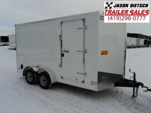 2018 RC Trailer 7x14 Wedge Nose W/Tandem Axle W/Extra Height