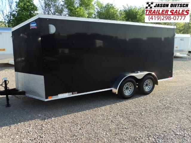 2019 United Trailers XLV 7x16 V-Nose Enclosed Cargo Trailer....Stock# UN-162786