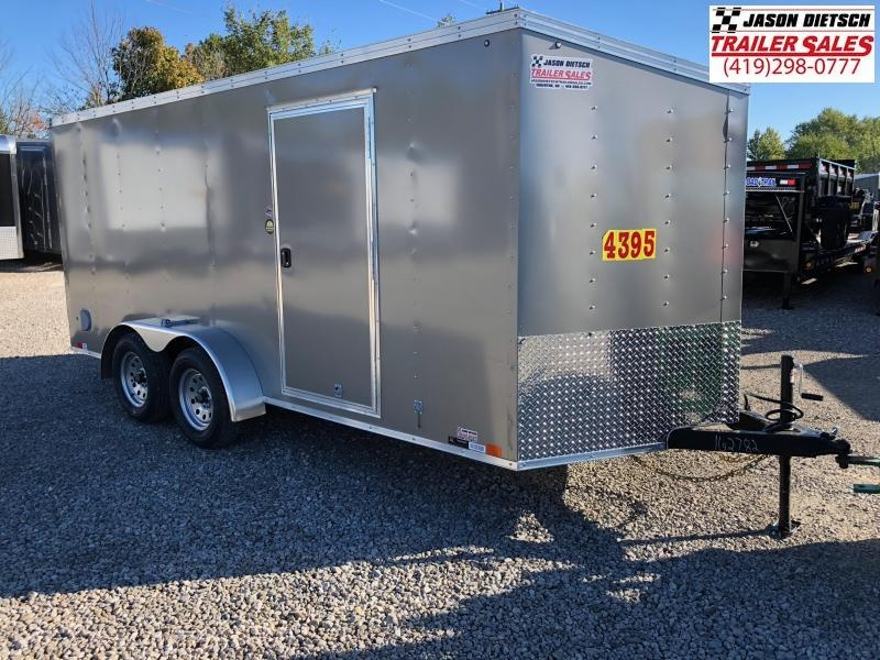 2019 United Trailers XLV 7x16 V-Nose Enclosed Cargo Trailer....Stock# UN-162782