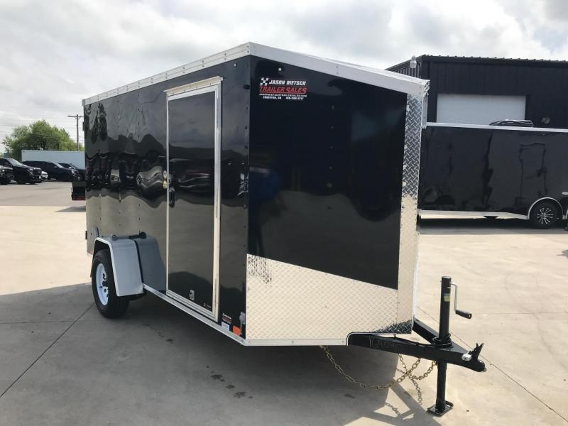 2020 United XLV 6X12 V-Nose Slant Enclosed Cargo Tr....Stock# UN-169090