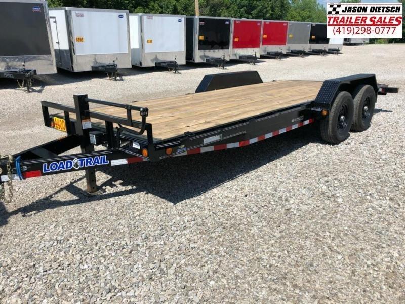 2018 Load Trail 83X20 Tandem Axle Carhauler....STOCK# LT-168350