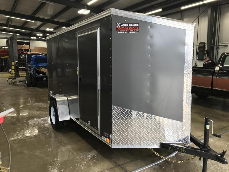 2020 United XLV 6X12 V-Nose Slant Enclosed Cargo Tr....Stock# UN-168978