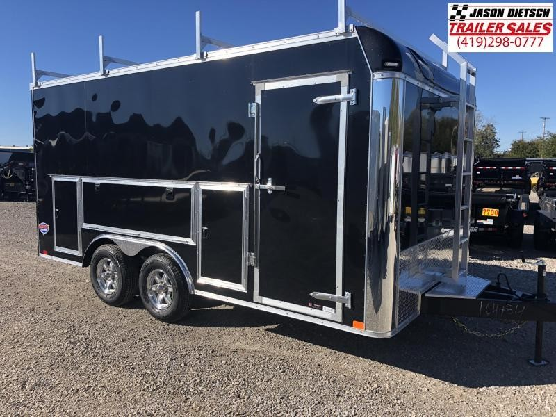 2019 United Trailers UXT 8.5x16 Enclosed Tool Crib Trailer.... Stock# UN-164754