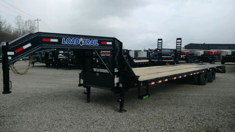 2020 Load Trail 102X32 Tandem Low-pro Gooseneck Equipment Trailer....STOCK# LT-205824