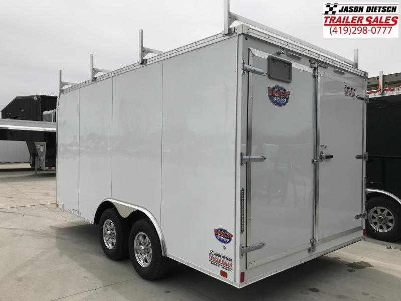 2019 United Trailers UXT 8.5x16 Enclosed Tool Crib Trailer....Stock # UN-167782