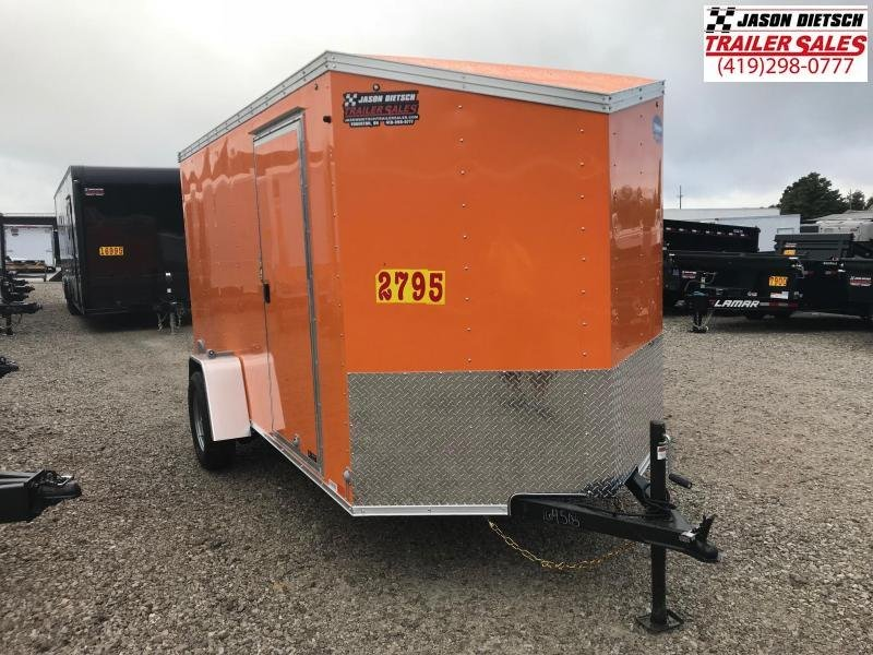 2019 United XLV 6X12 V-Nose Slant Enclosed Cargo Tr....Stock# UN-164518