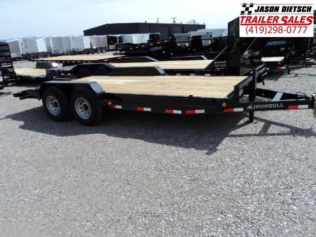 2018 IRON BULL 83x18 Tandem Axle Equipment Hauler Trailer....Stock#IB-1018958