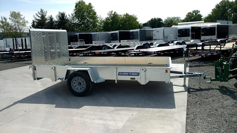 2018 Sure-Trac 7 x 12 Galvanized High Side....Stock# ST-230496