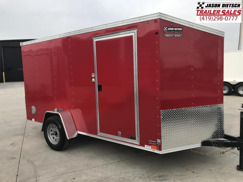 2019 United XLV 6X12 V-Nose Slant Enclosed Cargo Tr....Stock# UN-166127
