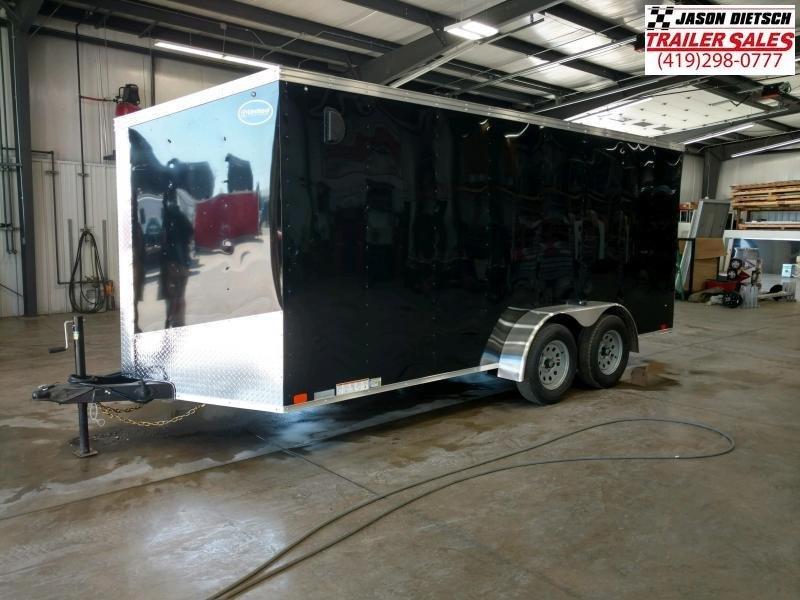 2020 United Trailers XLV 7x16 V-Nose Enclosed Cargo Trailer....Stock# UN-166193