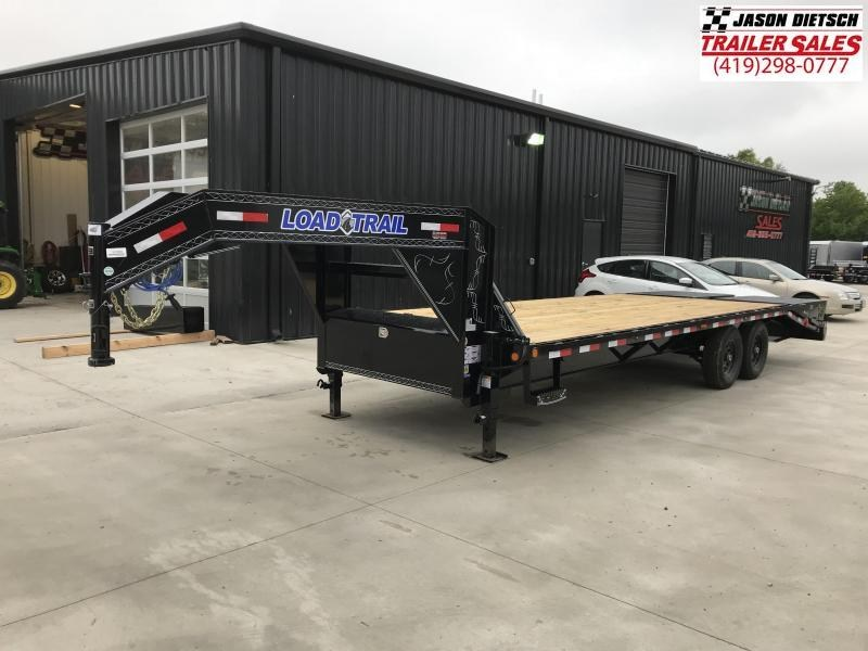 2018 Load Trail 102X25 Tandem Heavy Duty Gooseneck Equipment Trailer.... Stock# LT-167955