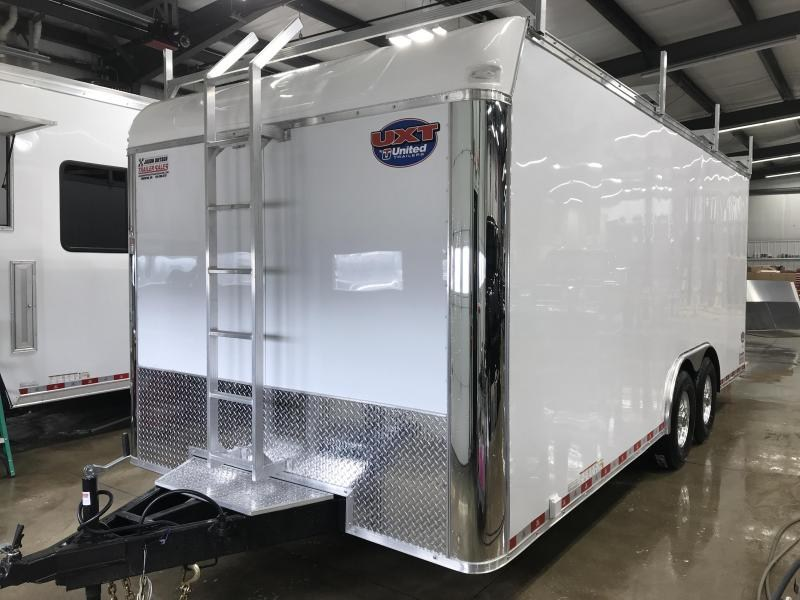 2019 United Trailer UXT 8.5x20 Enclosed Tool Crib Trailer....Stock#UN-167883