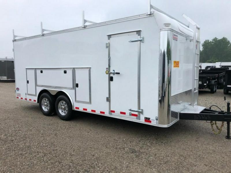 2019 United Trailer UXT 8.5x20 Enclosed Tool Crib Trailer....Stock#UN-163268