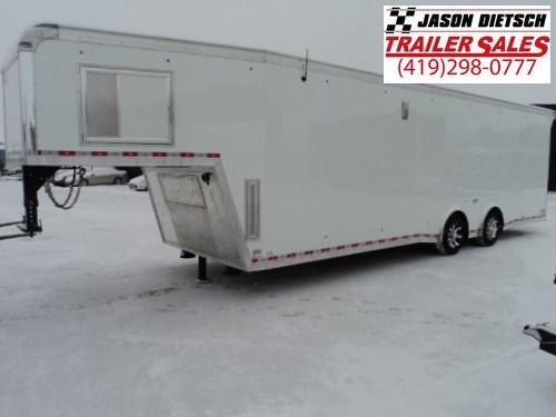2018 United Trailers USHGN 8.5X36 Car / Racing Trailer STOCK- 158610
