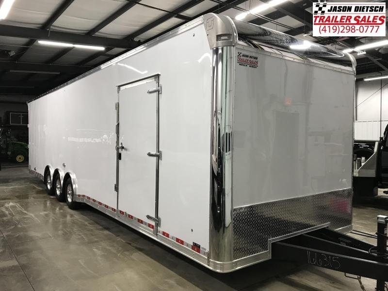 2019 United Trailer UXT 8.5x34 Enclosed Extra Height Carhauler....Stock#UN-166315