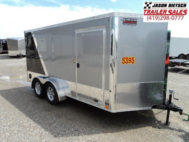 2019 United Trailers XLMTV 7x14 Wedge-Nose Enclosed Car Hauler....Stock # UN-162639