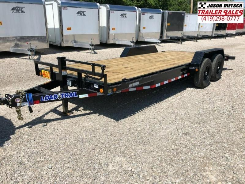 2018 Load Trail 83X20 Tandem Axle Carhauler....STOCK# LT-168702