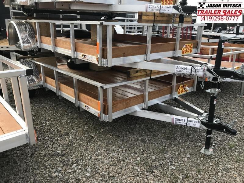 2019 Legend Manufacturing 6X12 ALUMINUM Utility Trailer....STOCK# LG-317425