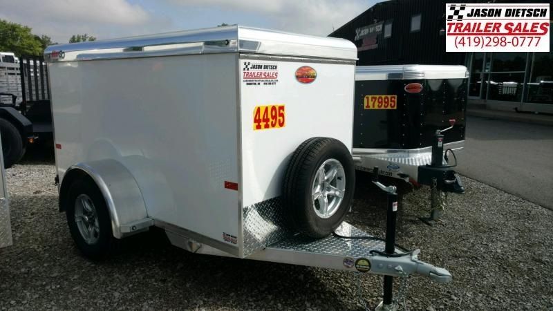 2020 Sundowner MiniGo 4X8 Enclosed Cargo Trailer....Stock#SD-CA3590