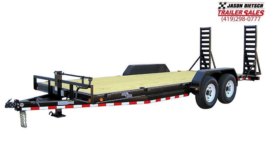 "2019 Load Trail 102"" X 24' Tandem Axle Carhauler Car / Racing Trailer"