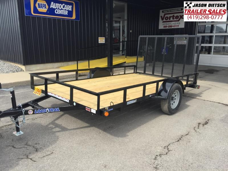 2017 Load Trail SA 83x12 Single Axle Utility Trailer....Stock#LT-33055